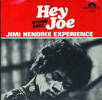 3008: Jimi Hendrix 'Hey Joe' single  Germany for Sweden