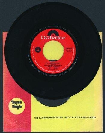 3010: Jimi Hendrix 'Purple Haze' single S. Africa