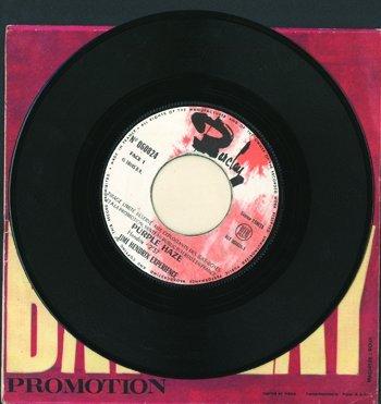 3013: Jimi Hendrix 'Purple Haze' promo record