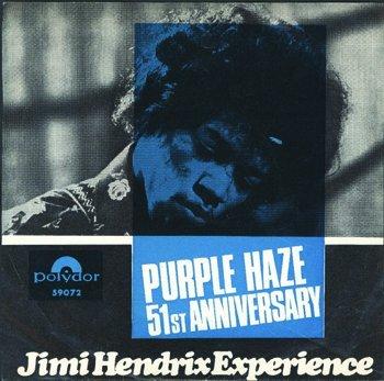 3014: Jimi Hendrix Purple Haze single Germany Sweden
