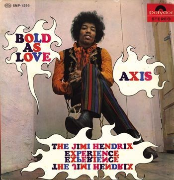 3018: Jimi Hendrix 'Axis: Bold As Love' LP Japan 67