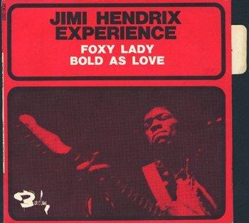 3019: Jimi Hendrix Foxy Lady/Bold As Love promo France