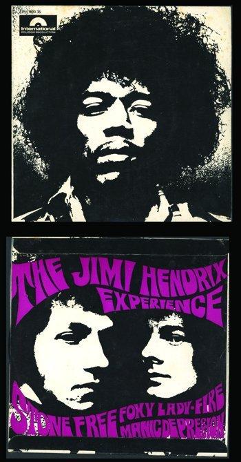 3024: Jimi Hendrix 'Stone Free' EP Australia 67