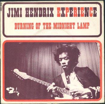 3025: Jimi Hendrix 'Burning of Midnight Lamp' France