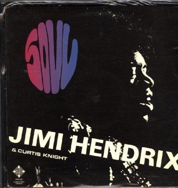 3026:Jimi Hendrix/Curtis Knight 'Soul' Germany 67