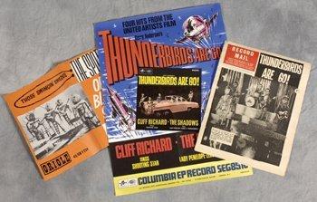 7: Thunderbirds Are Go!/Cliff Richard poster etc
