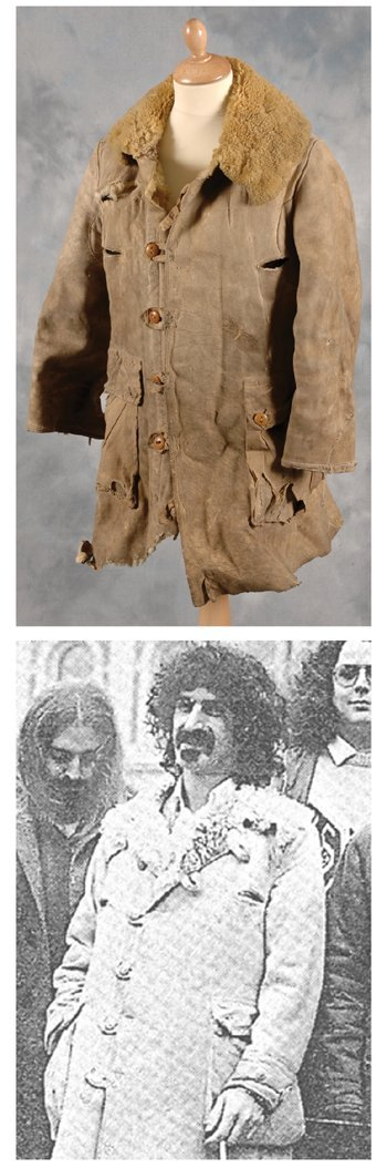 16: Frank Zappa owned and worn jacket