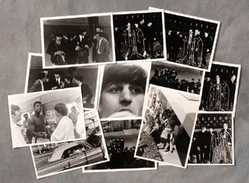 1004: Collection of Beatles photographs
