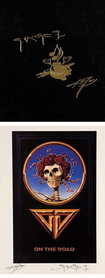 1010A: Grateful Dead Stanley Mouse/Alton Kelly signed p