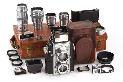 Zeiss Ikon Contaflex TLR outfit, 1936, no  Z42934