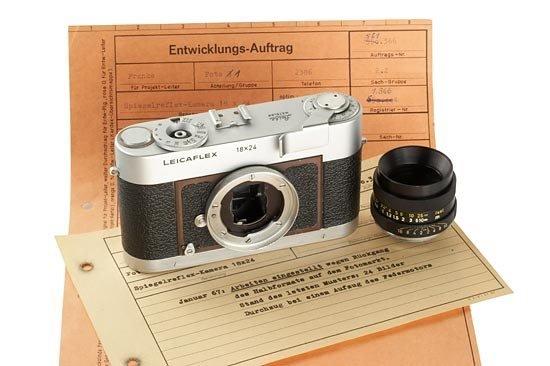 129: LEICA: Leicaflex 18x24