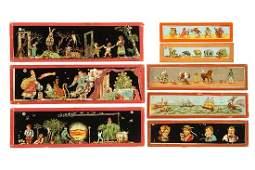 898: Over 100 Toy Magic Lantern Slides