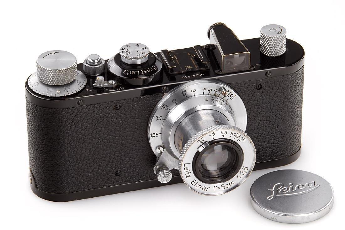 Leica Standard black/chrome, 1938, no. 244910