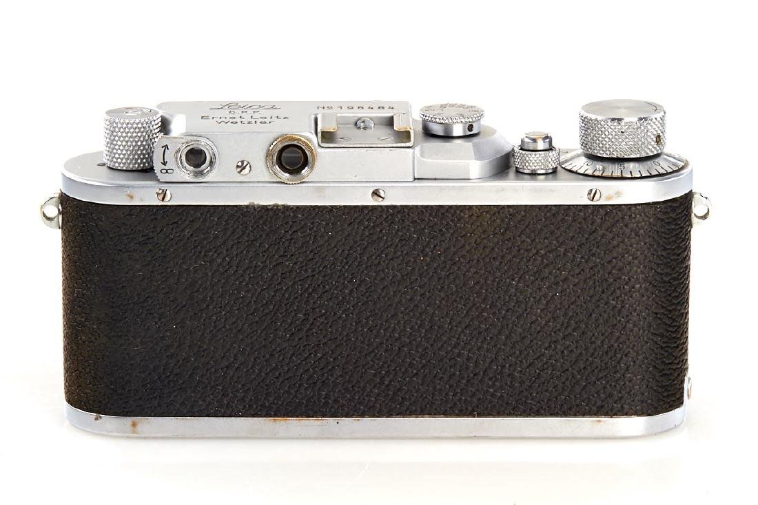 Leica IIIa, 1936, no. 198484 - 3