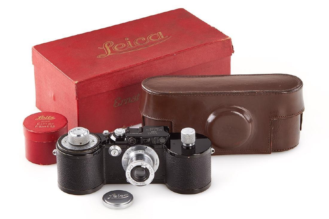 Leica 250 GG + Elmar 3,5/5cm *, 1938, no. 300058/462475