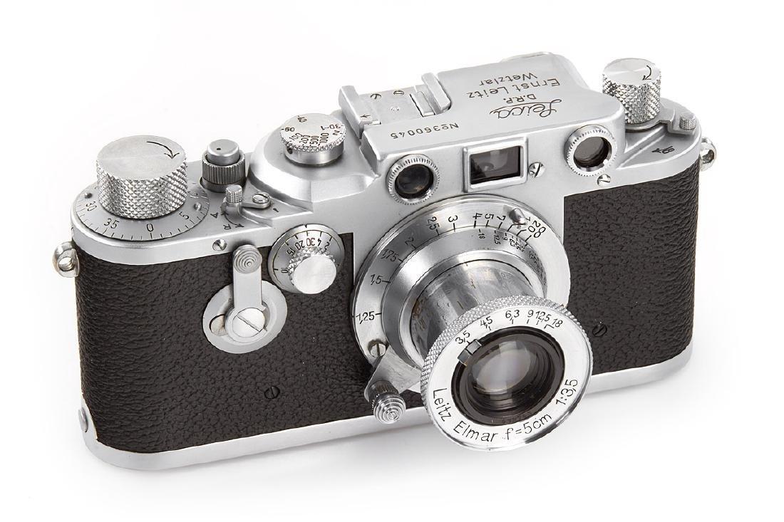 Leica IIId + Elmar 3,5/5cm *, 1941, no. 360045/432743