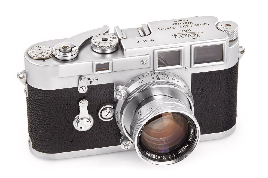 Leica M3 Prototype, c.1952, no. 40