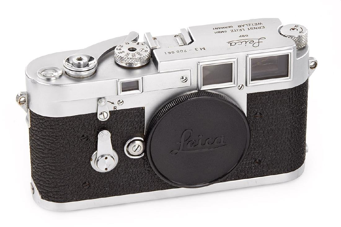 Leica M3 chrome *, 1954, no. 700061