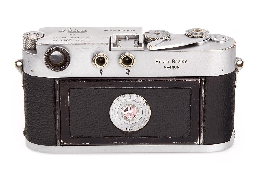 Leica M3 chrome 'Brian Brake' + Summicron 2/5cm *,