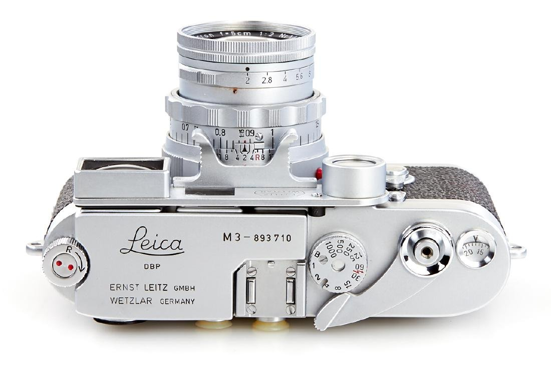 Leica M3 chrome + Summicron 2/5cm *, 1957, no. - 4