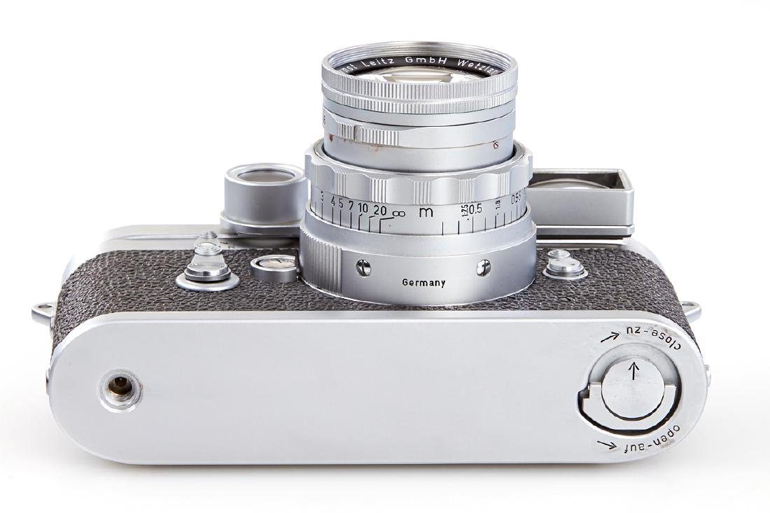 Leica M3 chrome + Summicron 2/5cm *, 1957, no. - 5