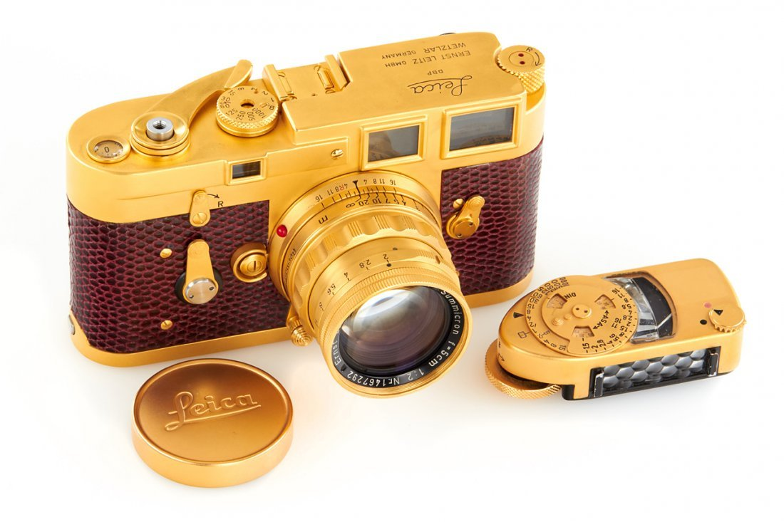 Leica M3 Gold Sample, 1956