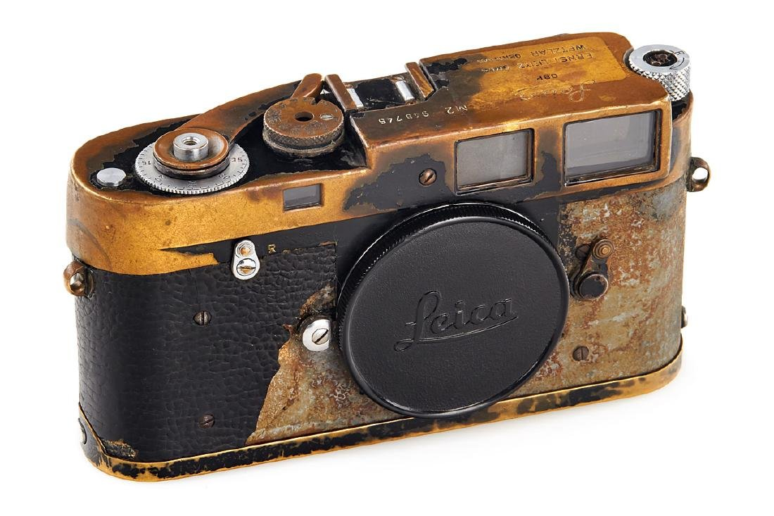 Leica M2 black paint 'Paul Fusco' *, 1958, no. 948745