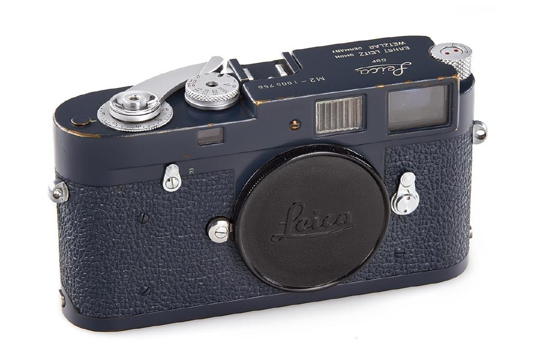 Leica M2 grey paint, 1960, no. 1005756