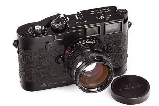 Leica MP black paint, 1957, no. MP-89