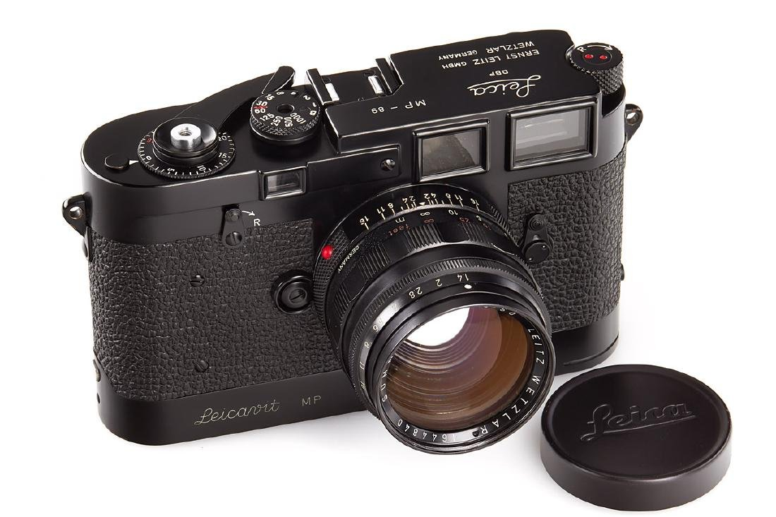 Leica MP black paint, 1957, no. MP-89