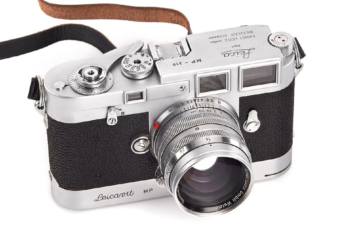 Leica MP chrome, 1958, no. MP-310
