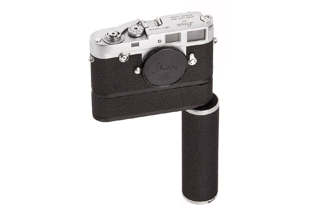 Leica MP-2 chrome + Electric Motor, 1958, no. 952012