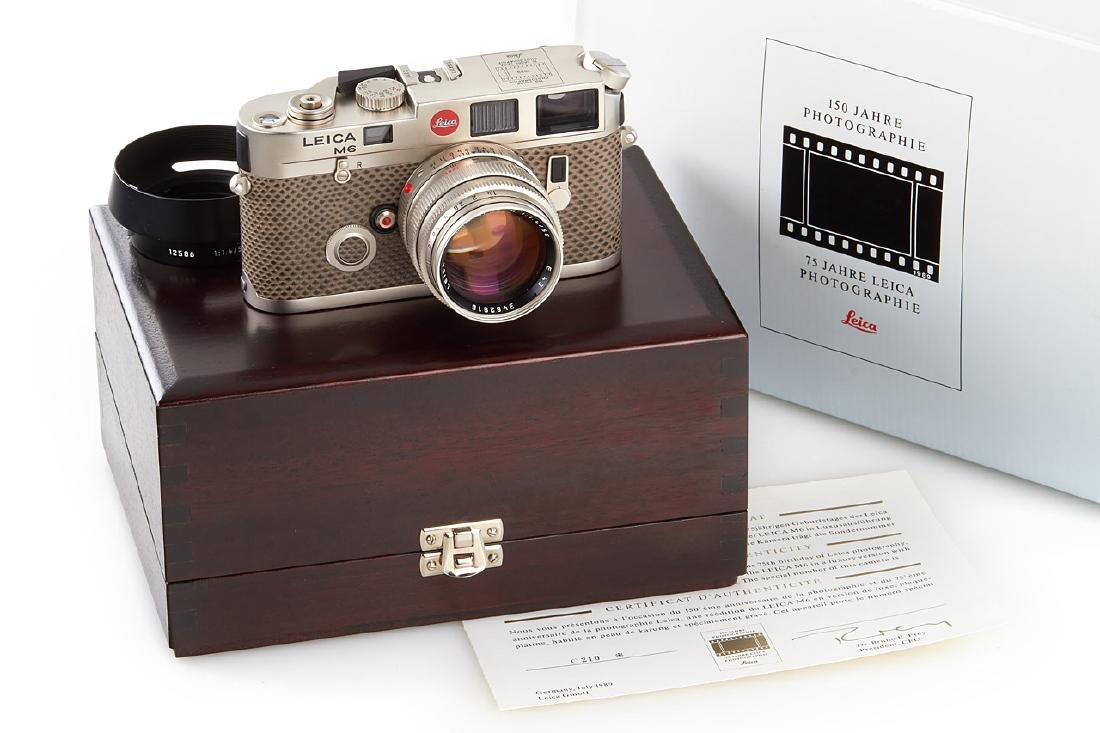 Leica M6 Platin 150 Years + Summilux 1,4/50mm *, 1988,