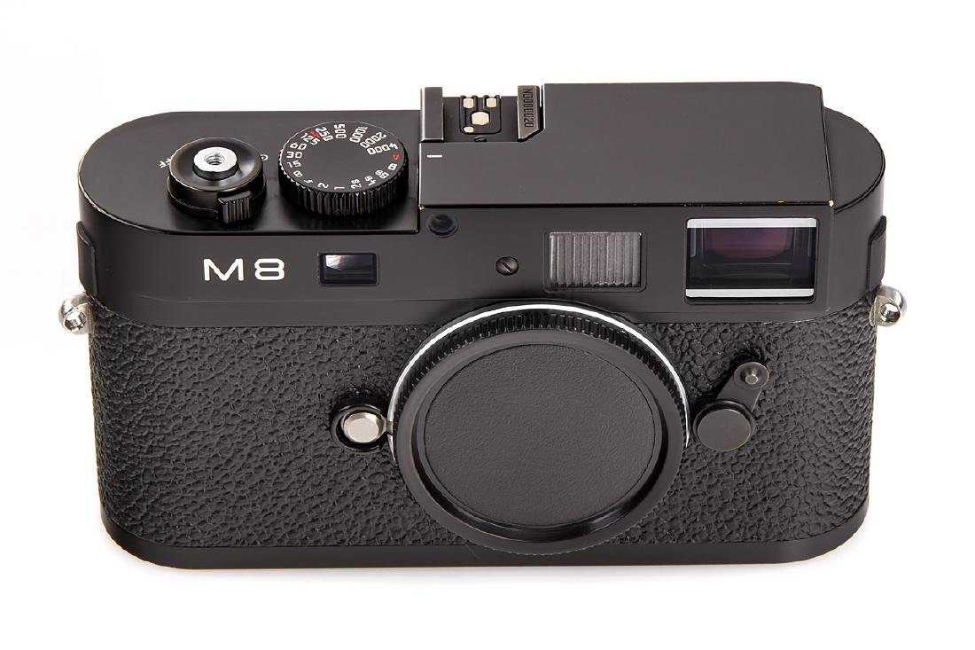 Leica M9 10704 black paint Prototype, 2008, no.