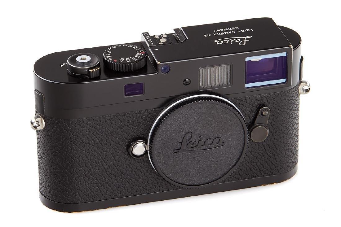 Leica M9-P black paint 'Rene Burri', 2011, no. 4205932