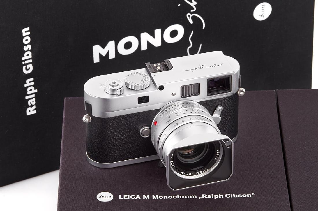 "Leica M Monochrom Edition ""Ralph Gibson"" *, 2014, no."