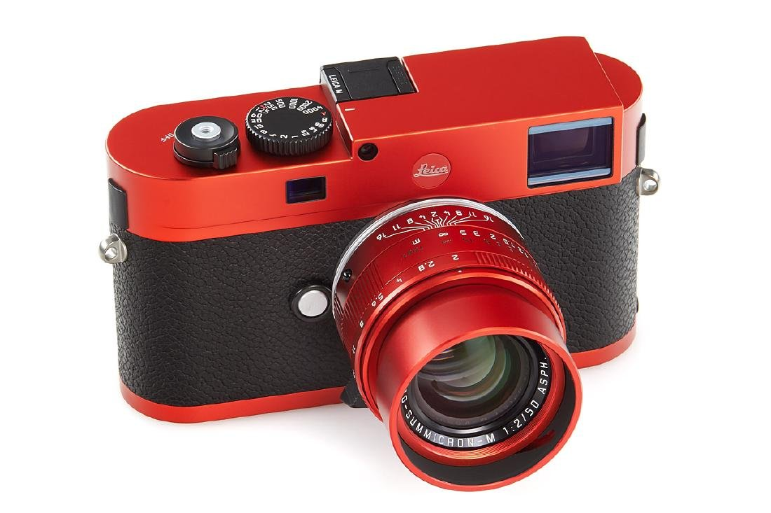 Leica M RED + Apo-Summicron-M 2/50mm RED Prototype *,