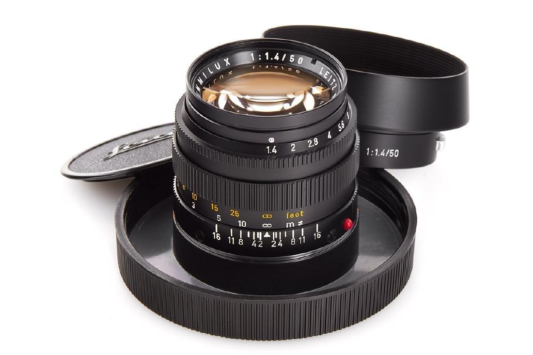 Summilux 1,4/50mm black *, 1972, no. 2503871