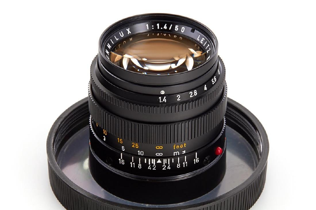 Summilux 1,4/50mm black *, 1972, no. 2503871 - 2