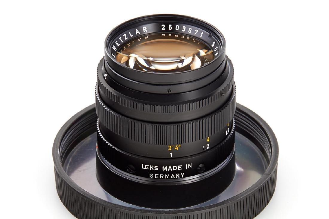 Summilux 1,4/50mm black *, 1972, no. 2503871 - 3