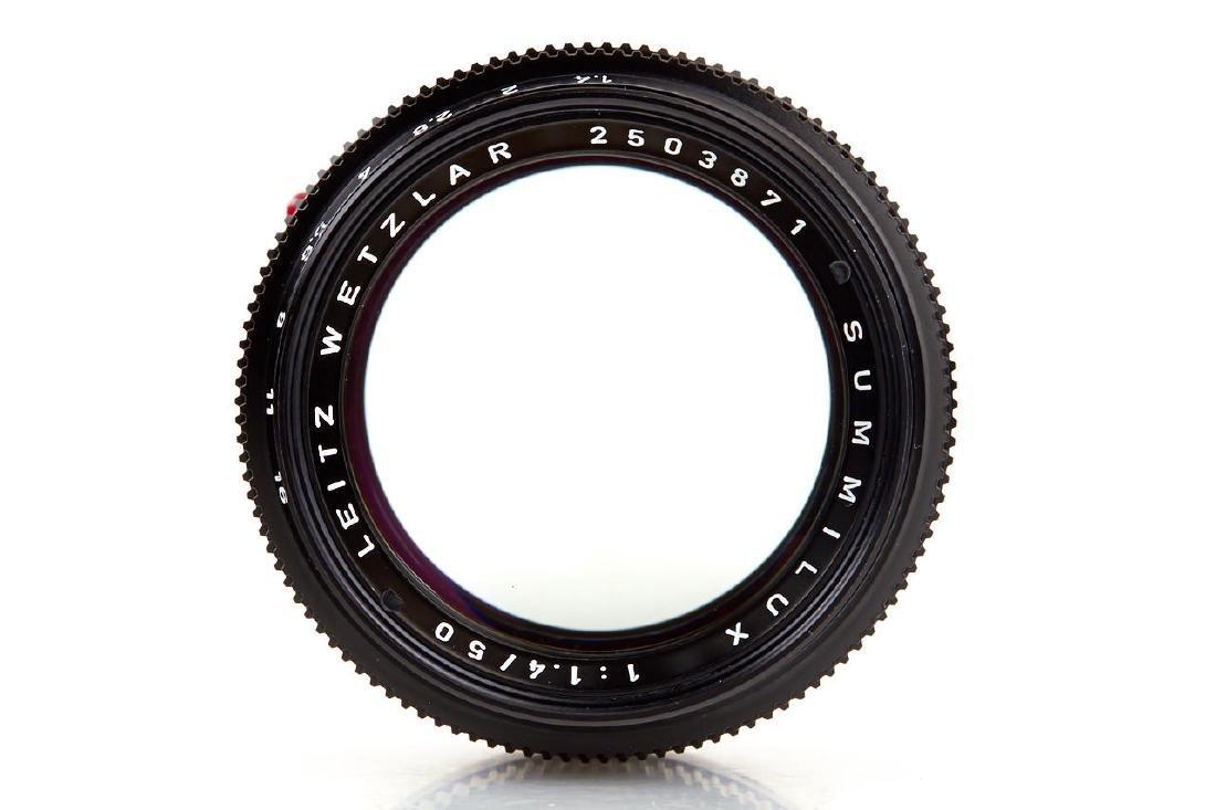 Summilux 1,4/50mm black *, 1972, no. 2503871 - 4