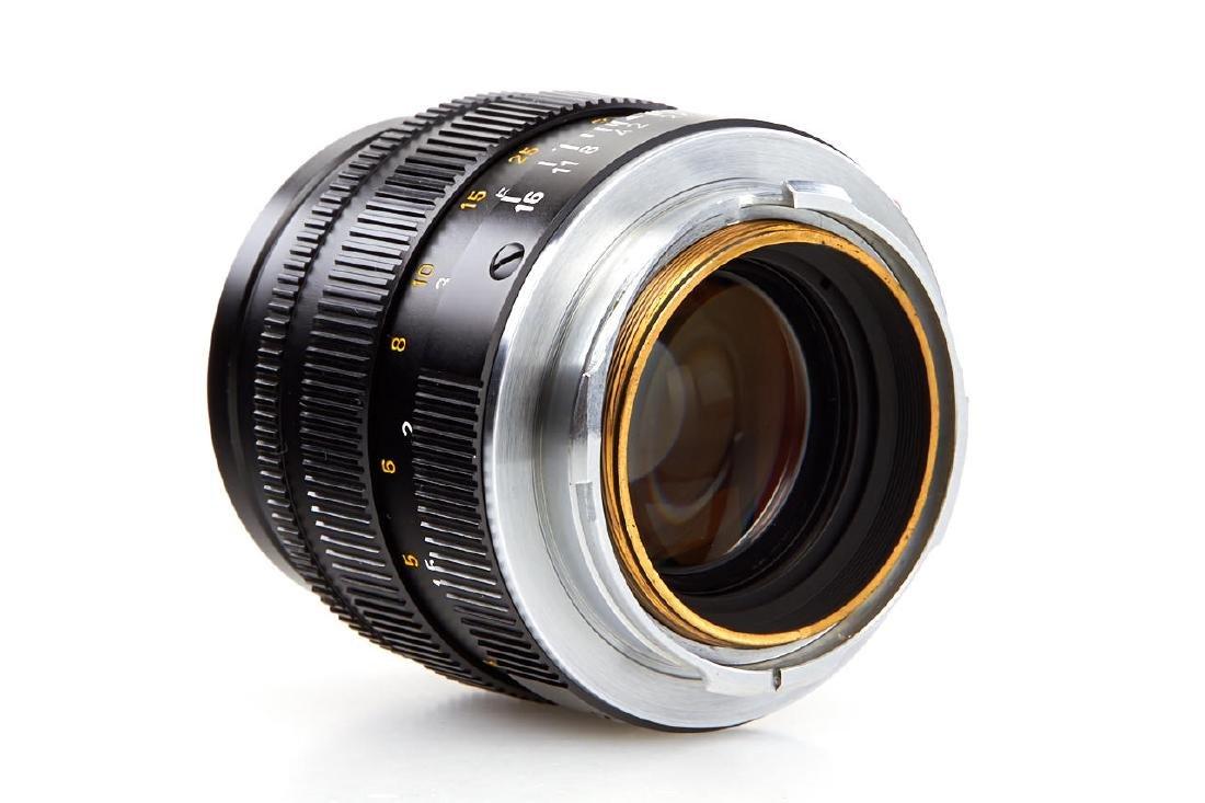 Summilux 1,4/50mm black *, 1972, no. 2503871 - 5