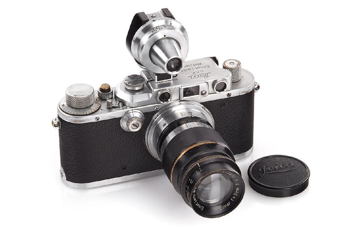Leica III Mod. F chrome 'Stapo Potsdam', 1937, no.