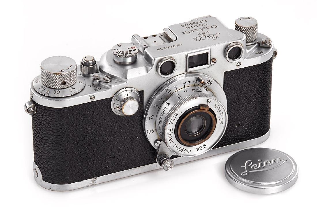 Leica IIIc chrome 'Luftwaffen-Eigentum', 1940, no.