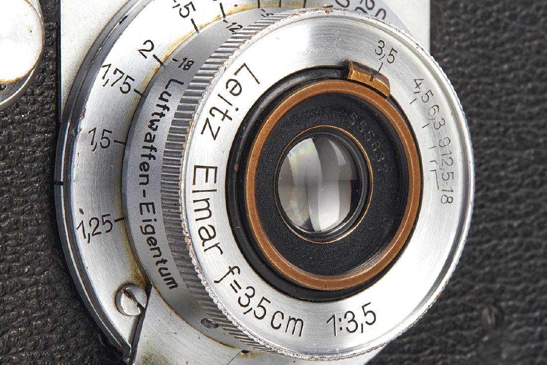 Leica IIIc chrome 'Luftwaffen-Eigentum', 1940, no. - 2