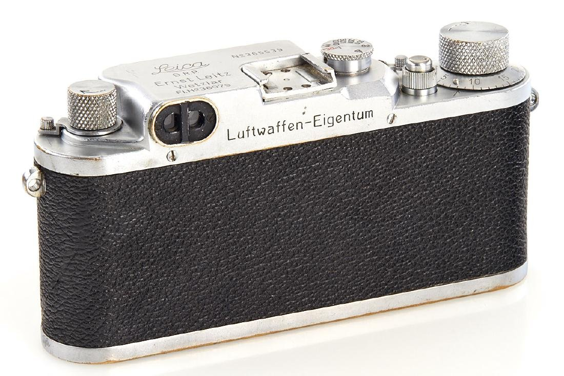 Leica IIIc chrome 'Luftwaffen-Eigentum', 1940, no. - 3