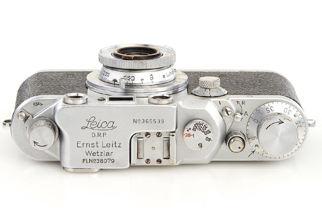 Leica IIIc chrome 'Luftwaffen-Eigentum', 1940, no. - 5