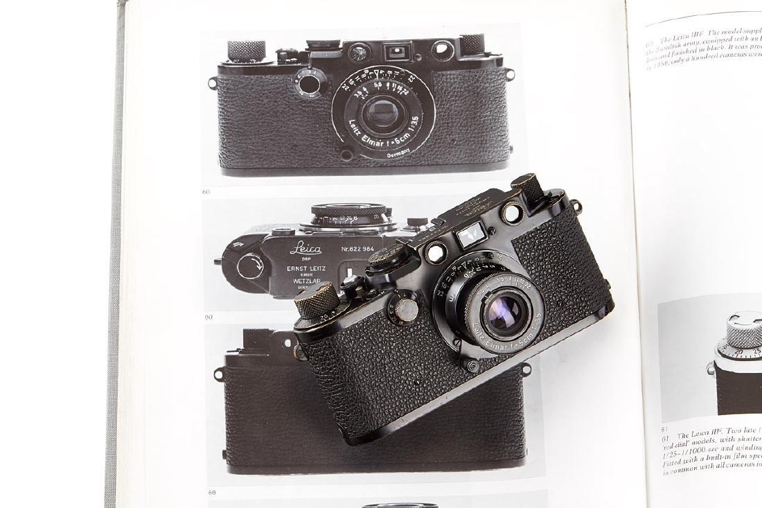 Leica IIIf black paint 'Swedish Army' + Elmar 3,5/5cm