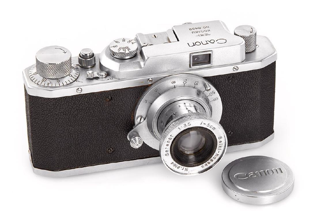 Seiki-Kogaku Canon J II, 1946, no. 8492