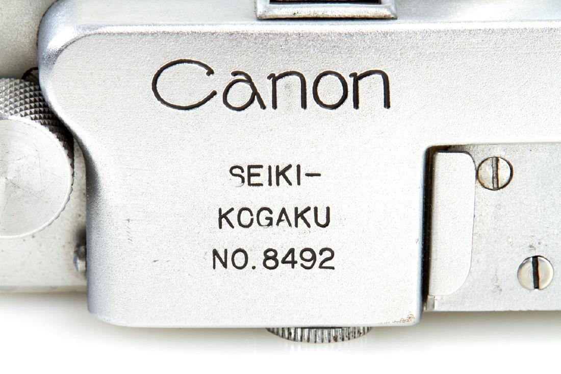 Seiki-Kogaku Canon J II, 1946, no. 8492 - 5